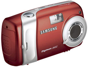 SAMSUNG Digimax A402 Rudy Red